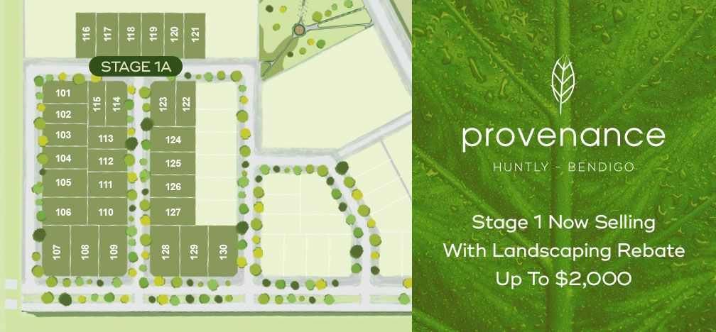 Stage 1 Provenance Estate (Lots 101 - 130), Huntly VIC 3551, Image 0