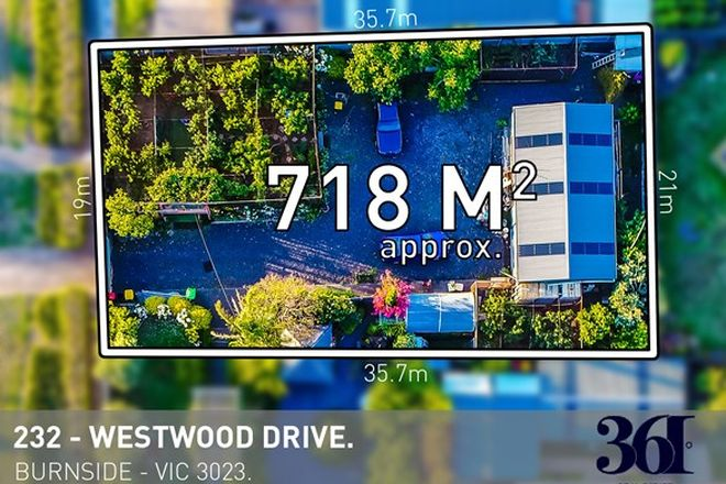 Picture of 232 Westwood Drive, BURNSIDE VIC 3023