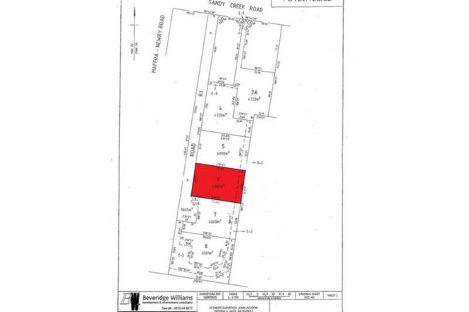 Picture of Lot 6 Sandy Creek Road, MAFFRA VIC 3860
