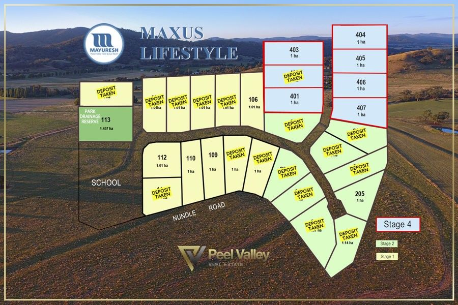 Stage 1,2 & 4 Maxus Lifestyle, Tamworth NSW 2340, Image 0