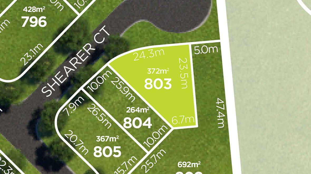 Lot 803 Shearer Court, Ripley QLD 4306, Image 1