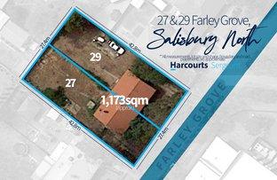 Picture of 27 & 29 Farley  Grove, Salisbury North SA 5108