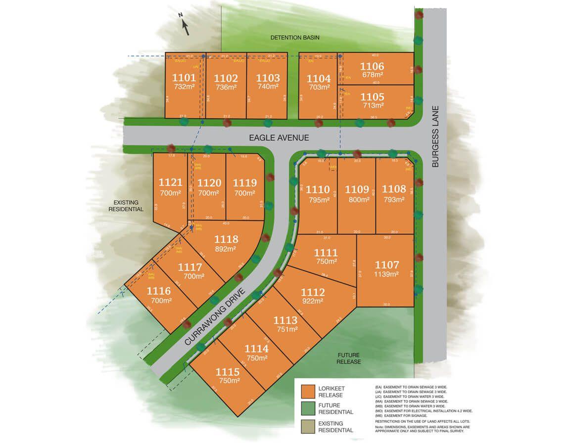 Lot 1116, 51 Currawong Drive, Lampada Estate, Calala NSW 2340, Image 1