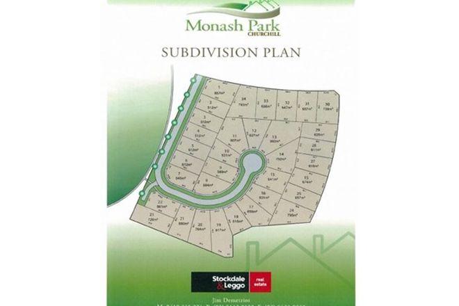 Picture of Lot 31 Monash Park Estate, CHURCHILL VIC 3842