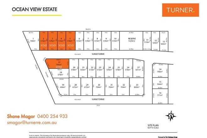 Picture of Lots 1 to 33 Sunset Drive, MOANA SA 5169