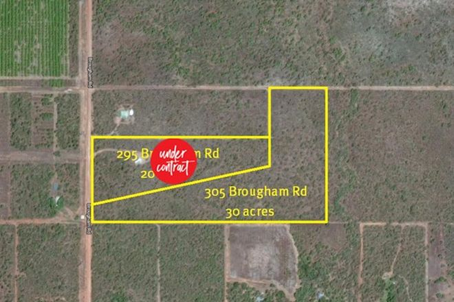 Picture of 295 & 305 Brougham Road, FLY CREEK NT 0822