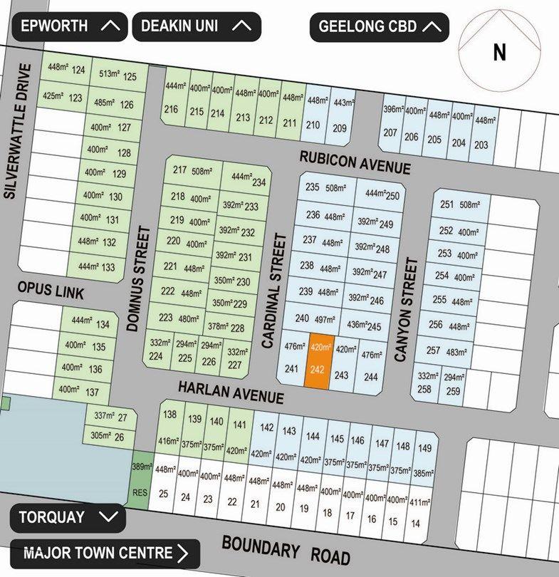 Lot 242 Harlan Avenue, Mount Duneed VIC 3217, Image 0