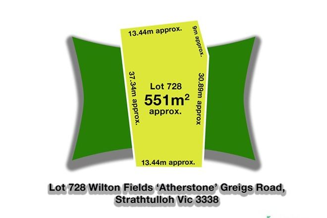 Picture of 728 Greigs Road, STRATHTULLOH VIC 3338