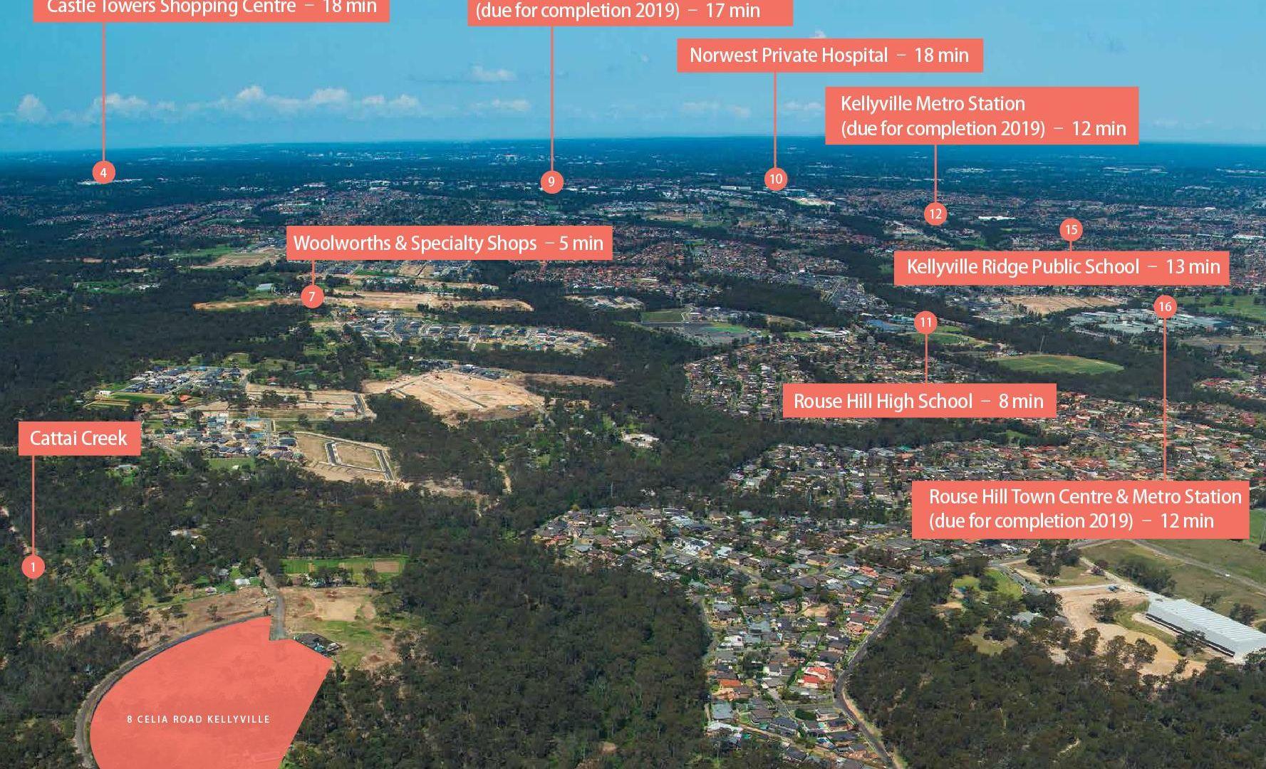 LOT 8/8 Celia RD, Kellyville NSW 2155, Image 1