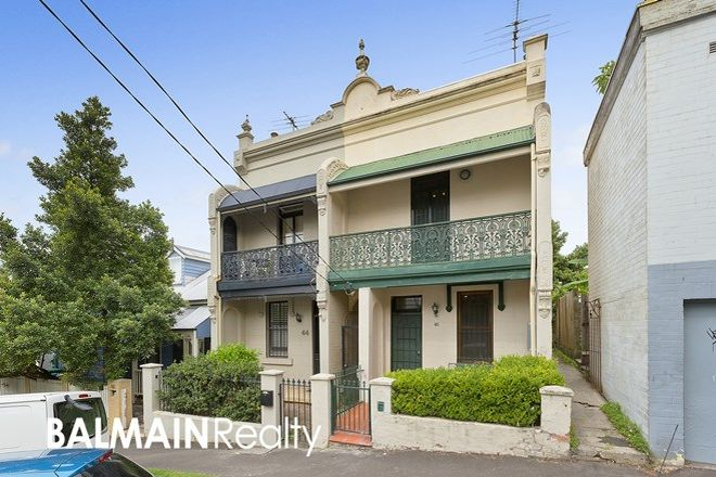 Picture of 46 Nelson Street, ROZELLE NSW 2039
