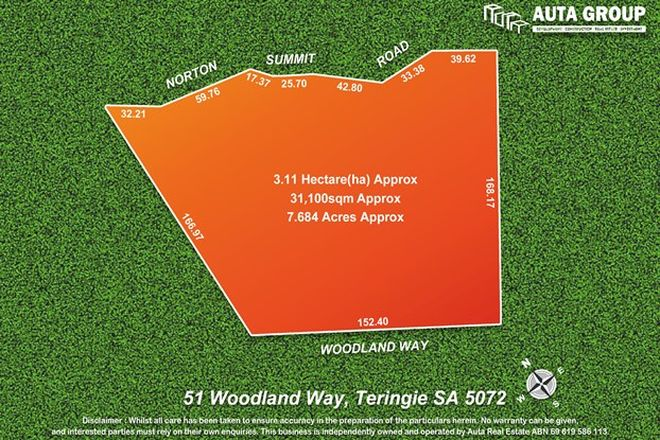 Picture of 51 Woodland Way, TERINGIE SA 5072