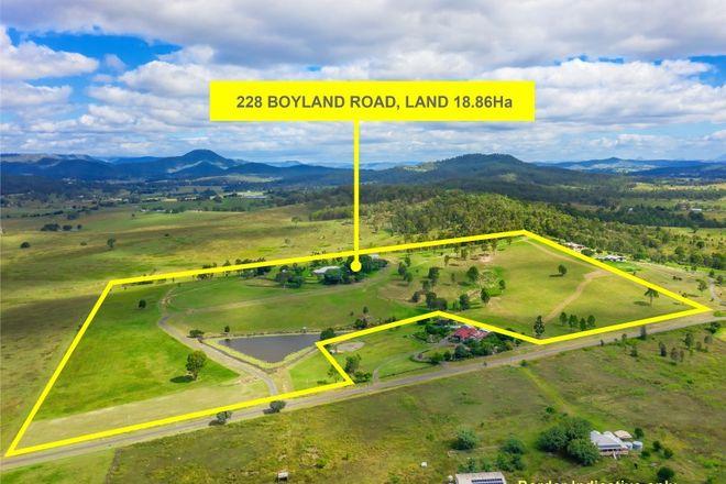 Picture of 228 Boyland Road, BOYLAND QLD 4275