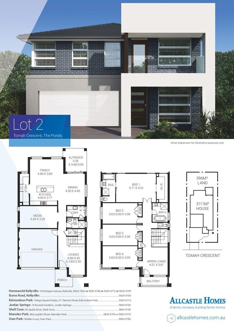 Lot 2 Tomah Crescent, The Ponds NSW 2769, Image 1