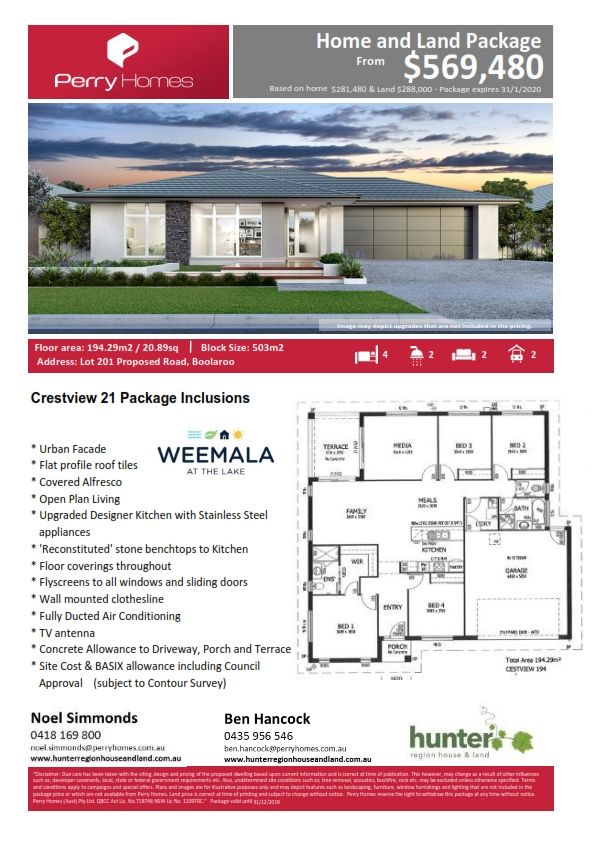 Lot 201  Proposed Road, Boolaroo NSW 2284, Image 1