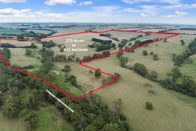 Picture of 971 Timboon-Curdievale Road, CURDIEVALE VIC 3268