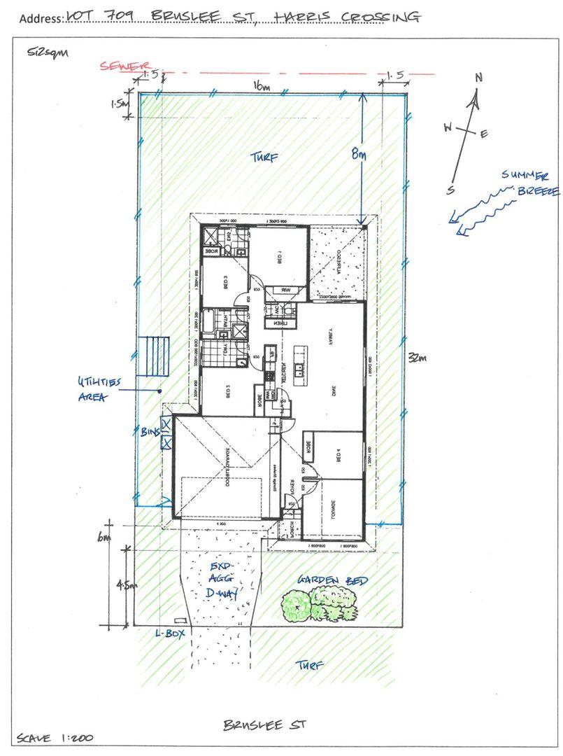 Lot 709 Bruslee St, Harris Crossing, Bohle Plains QLD 4817, Image 2