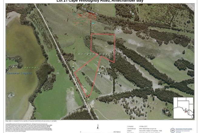 Picture of Lot 21 CAPE WILLOUGHBY ROAD, ANTECHAMBER BAY SA 5222
