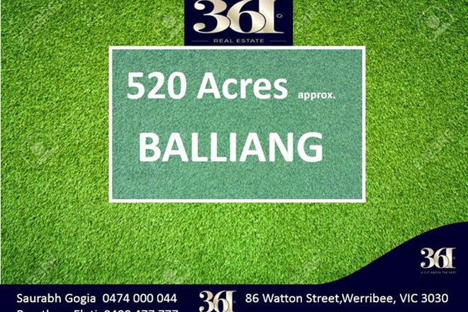 Picture of BALLIANG VIC 3340