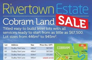Picture of Lot 63 Dudley Park Lane, Cobram VIC 3644