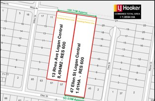 47 Ellen Street & 13 Rhea Avenue, Logan Central QLD 4114