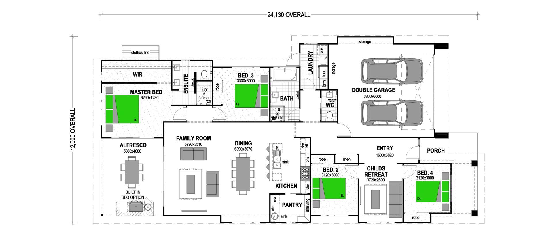 Lot 308 Bottlebrush Avenue, Mornington Heights Estate, Gunnedah NSW 2380, Image 1