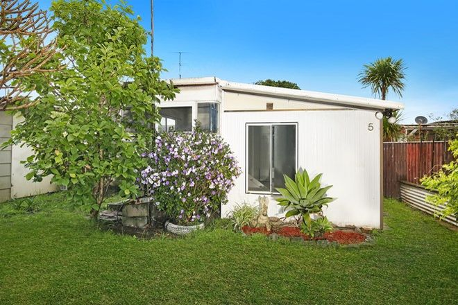 Picture of 5/4 Woodrow Place, Figtree Gardens Caravan Park, FIGTREE NSW 2525