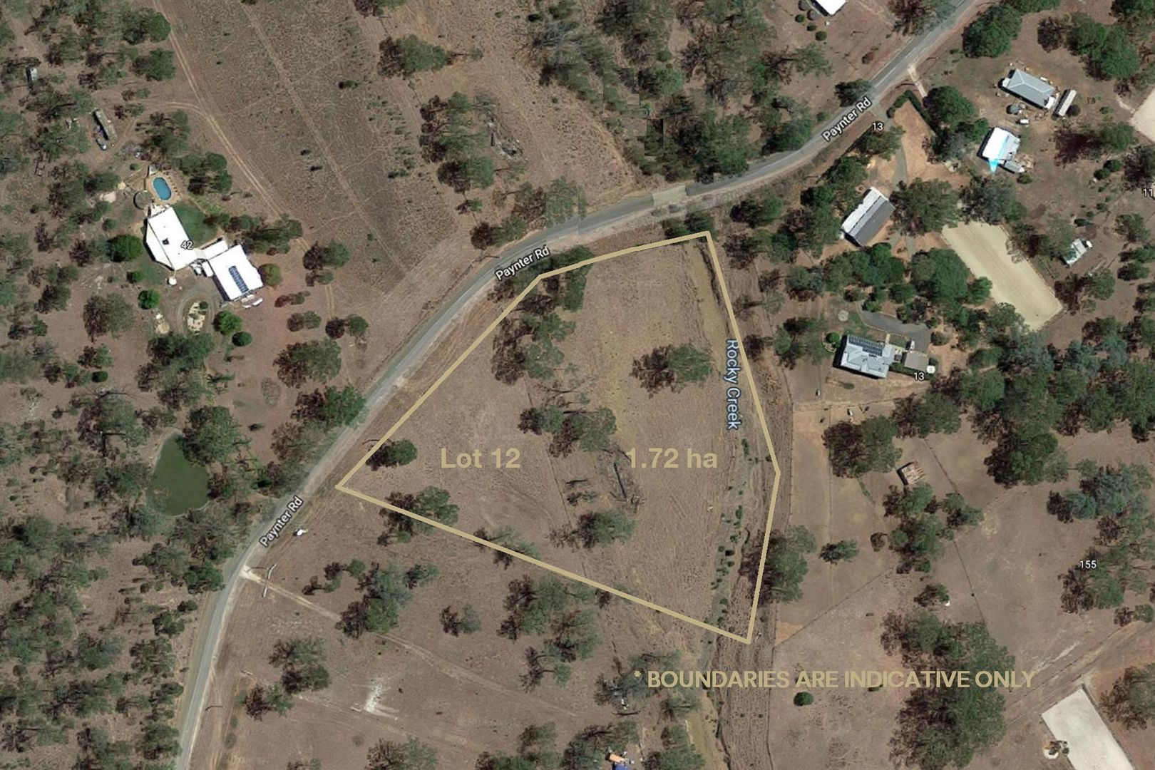 Lot 12 Paynter Road, Postmans Ridge QLD 4352, Image 1