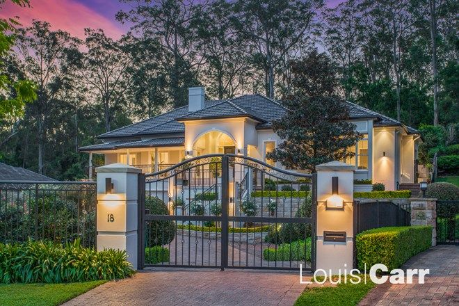 Picture of 18 Hoop Pine Place, WEST PENNANT HILLS NSW 2125