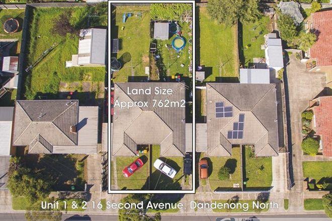 Picture of 1 & 2/16 Second Avenue, DANDENONG NORTH VIC 3175
