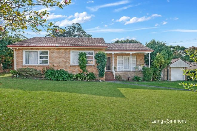 Picture of 8 Fairburn Avenue, WEST PENNANT HILLS NSW 2125
