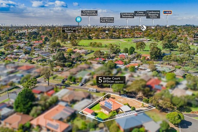 Picture of 5 Butler Court, CRANBOURNE VIC 3977
