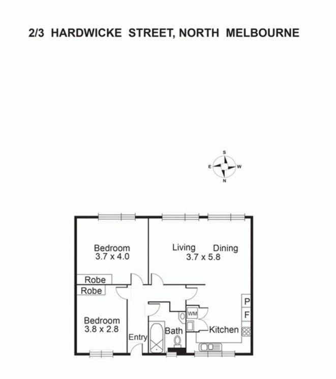 2/3 Hardwicke St, North Melbourne VIC 3051, Image 7