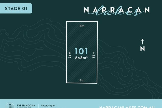 Picture of Lot 101 Narracan Lakes, NEWBOROUGH VIC 3825