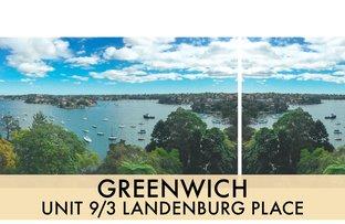 9/3 Landenburg Place, Greenwich NSW 2065