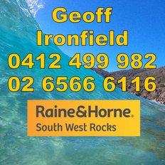 Geoff Ironfield, Sales representative