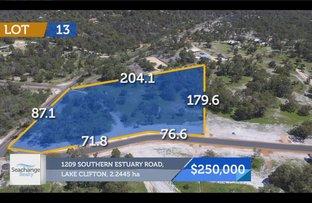 1209 - Lot 13 Southern Estuary Road, Lake Clifton WA 6215