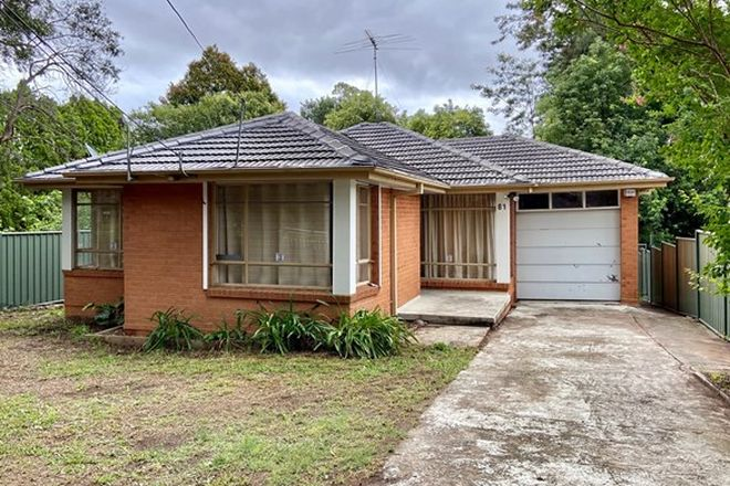 Picture of 81 Vimiera Road, EASTWOOD NSW 2122