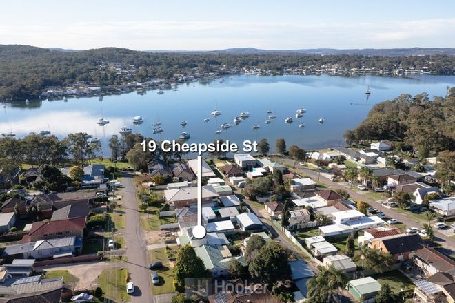 Picture of 19 Cheapside Street, RATHMINES NSW 2283