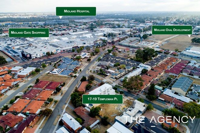 Picture of 17 & 19 Templeman Place, MIDLAND WA 6056