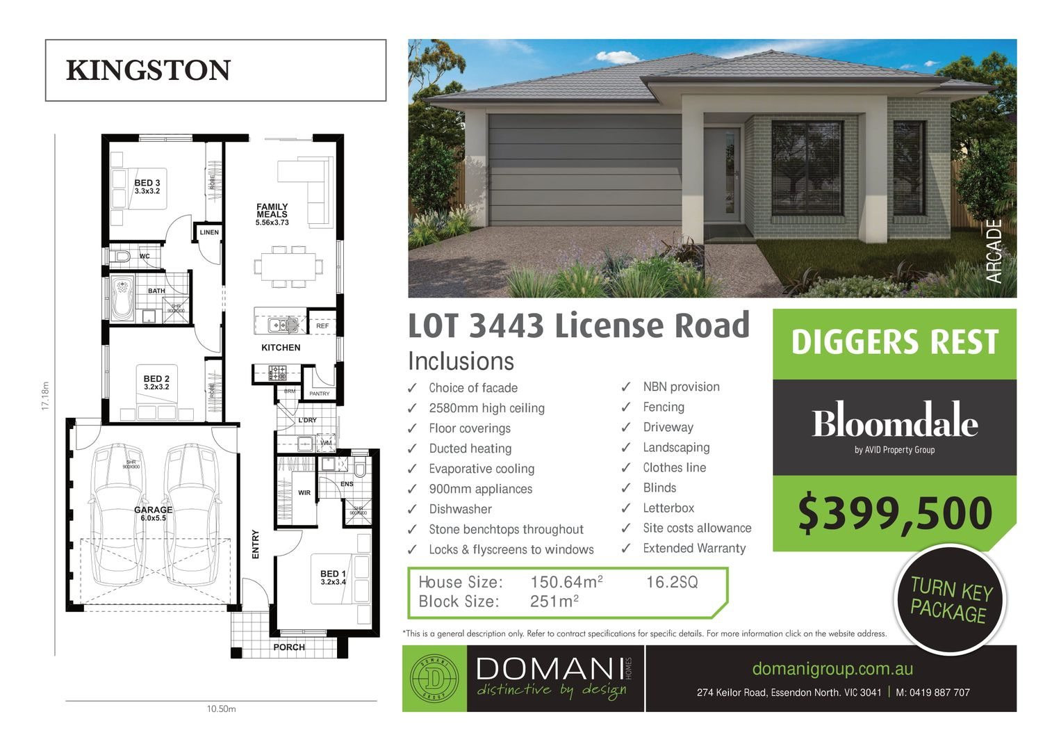 3443 License Road, Diggers Rest VIC 3427, Image 1