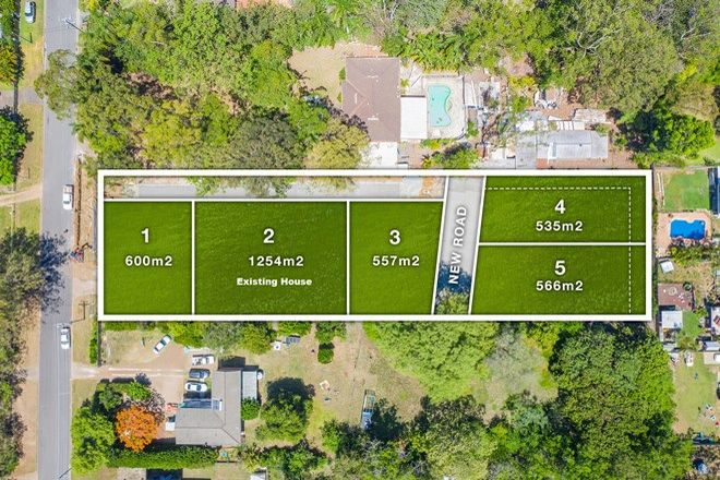 Picture of Lots1,3,4 & 5 19 Akers Road, LAWNTON QLD 4501
