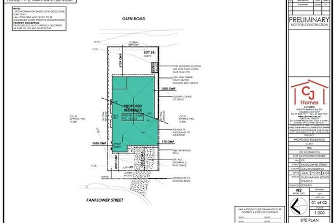 Picture of Lot 26 Fanflower Street (Glenhaven Estate), LOGAN RESERVE QLD 4133