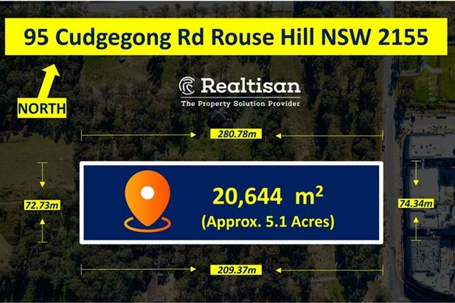Picture of 95 Cudgegong Road, ROUSE HILL NSW 2155