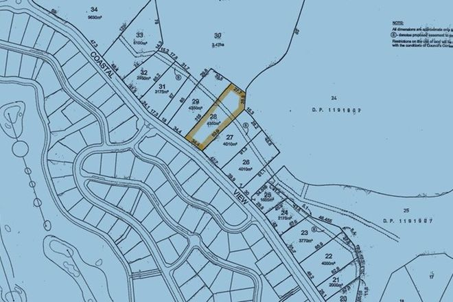 Picture of Lot 28 Coastal View Drive, TALLWOODS VILLAGE NSW 2430