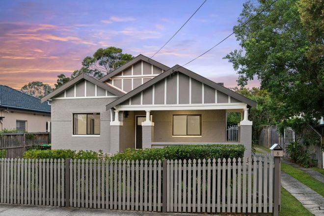 Picture of 5 Baringa Road, NORTHBRIDGE NSW 2063