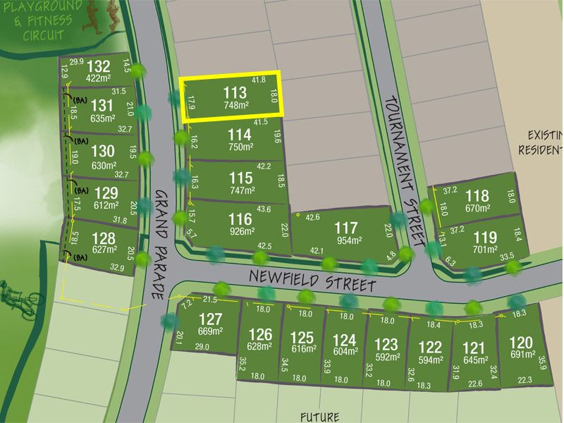 Lot 113 Grand Parade, Rutherford NSW 2320, Image 1