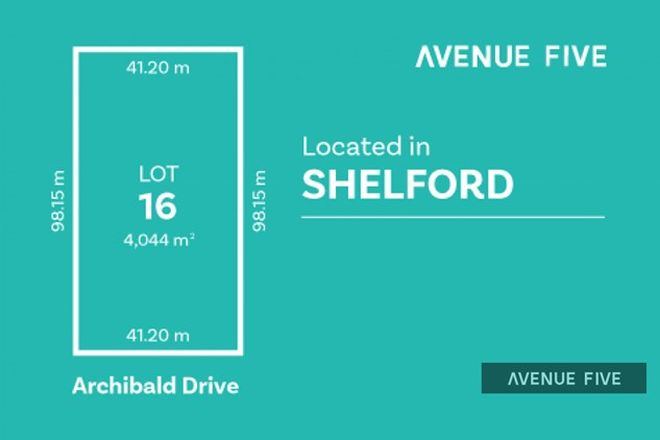Picture of Lot 16 Archibold Drive, SHELFORD VIC 3329