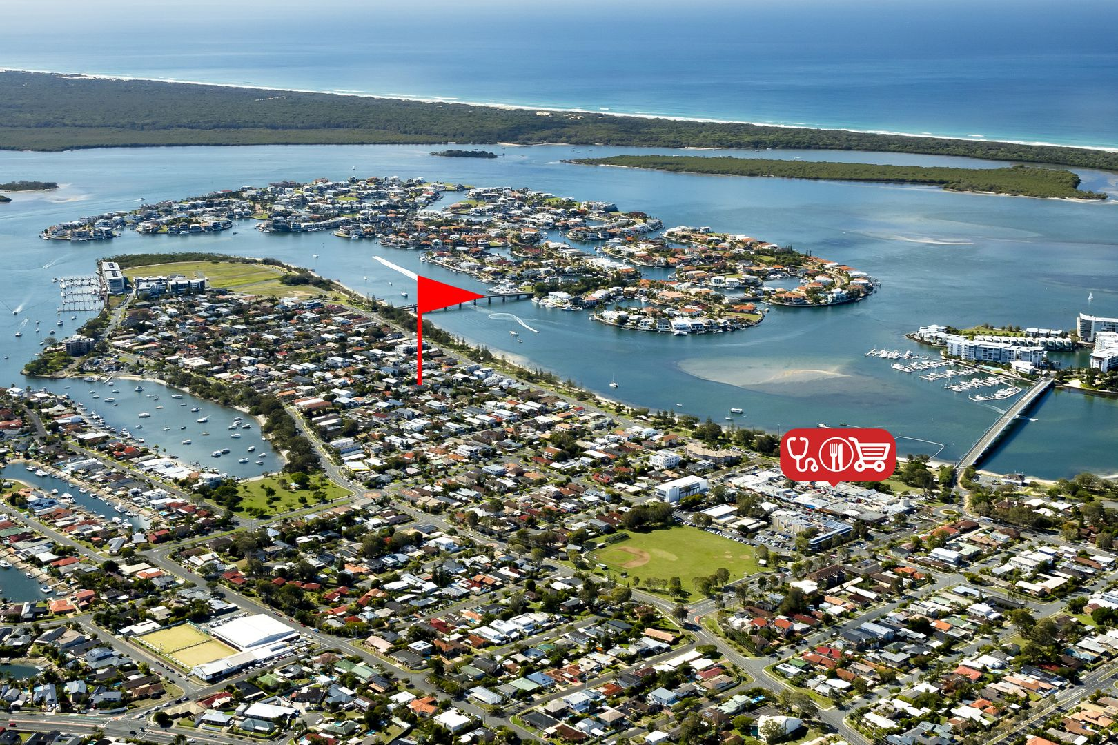 1/11 Rouen Avenue, Paradise Point QLD 4216, Image 0