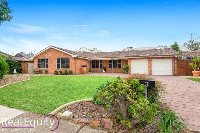 Picture of 3 Sammut Crescent, CHIPPING NORTON NSW 2170