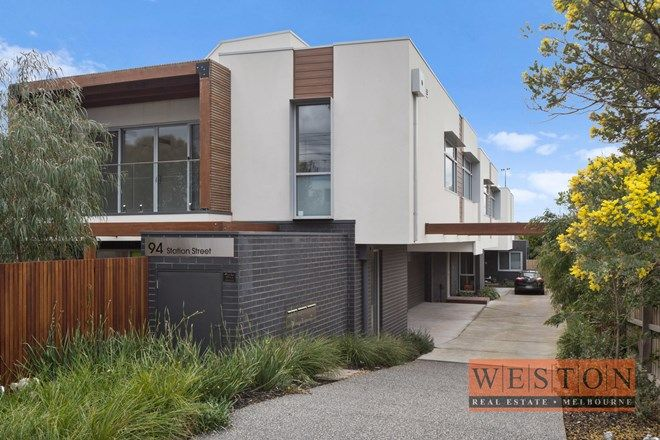 Picture of Town House 2/94 Station St, ASPENDALE VIC 3195